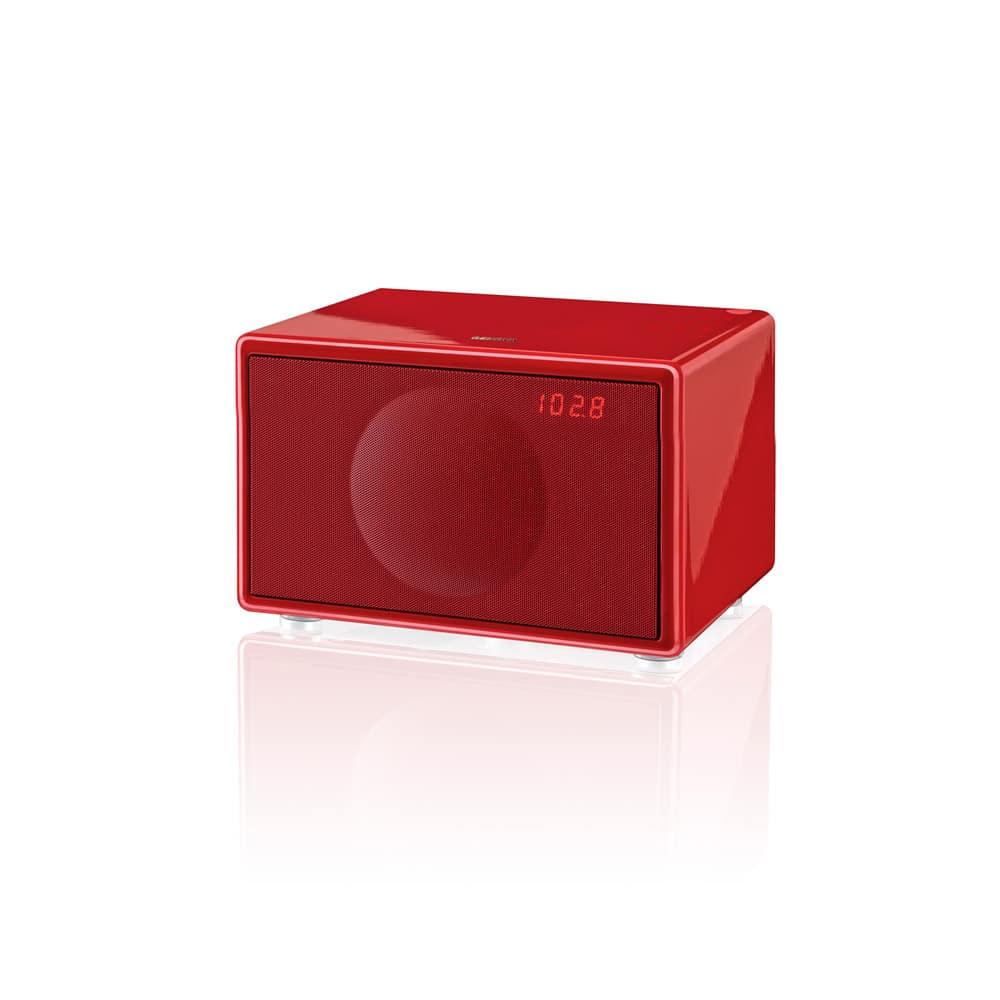 geneva model s dab bt red radiospesialisten. Black Bedroom Furniture Sets. Home Design Ideas
