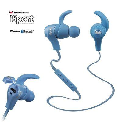 Monster iSport wireless Bluetooth Blå