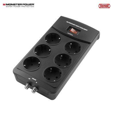 Monster Power 600 AV - DE 6 overspenningsvern for AV utstyr