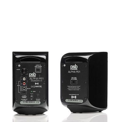 PSB Alpha PS1 Aktive høyttalere Sort gloss