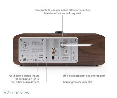 Ruark Audio R2 MK3 design radio valnøt