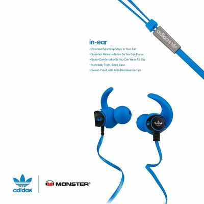 adidas Originals by Monster In-Ear Headphones blue