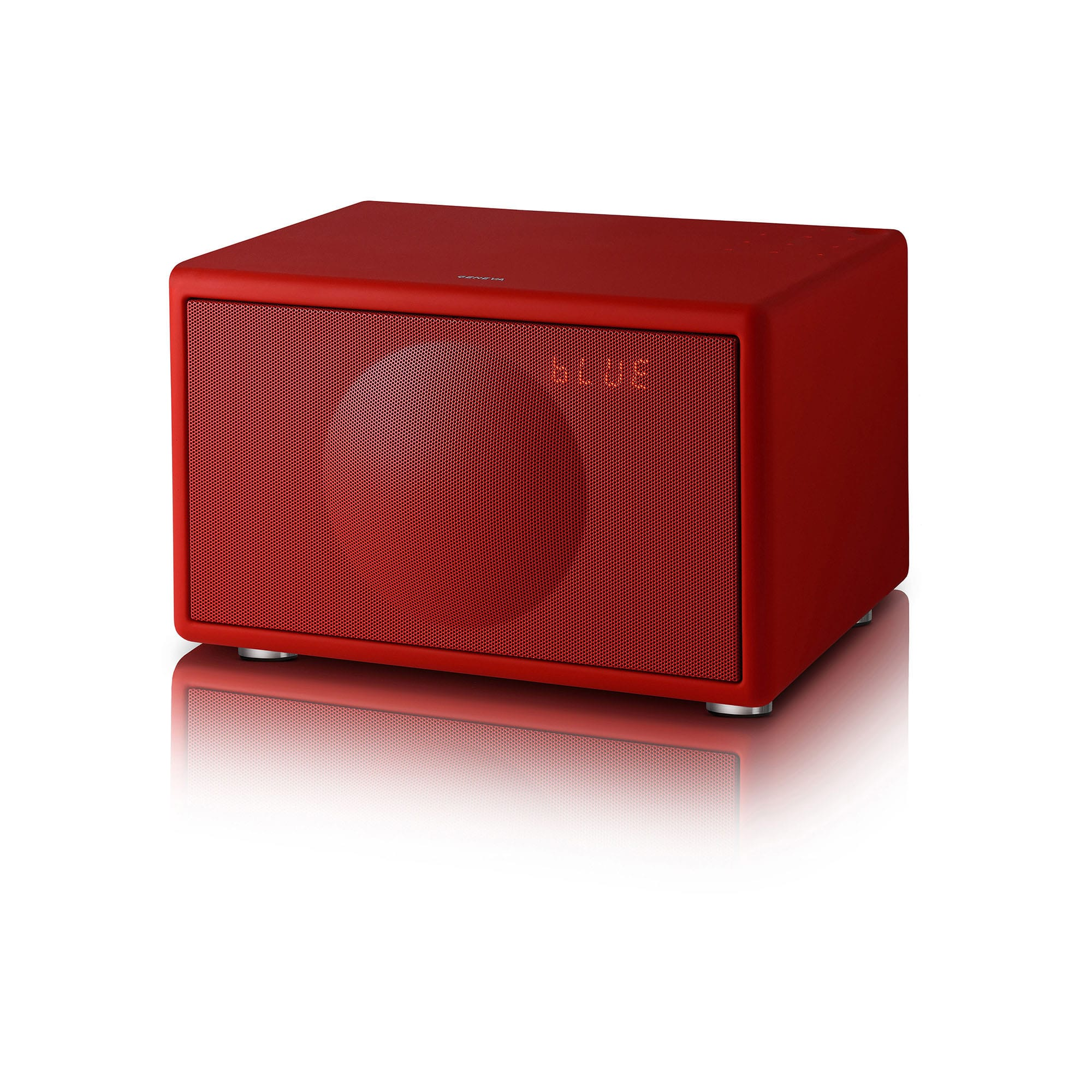 geneva model s dab bt matte red radiospesialisten. Black Bedroom Furniture Sets. Home Design Ideas