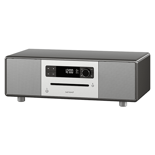 sonoro stereo dab med bluetooth og cd grafitt. Black Bedroom Furniture Sets. Home Design Ideas